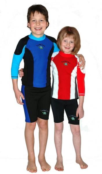 TAMINO Kinder Neopren-Lycra Shirt langarm