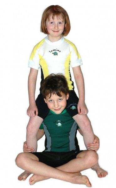TAMINO Kinder Neopren-Lycra Shirt kurzarm