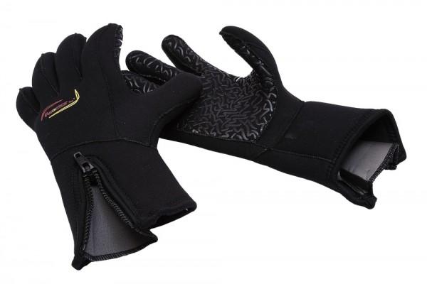 Reactor 5mm Handschuhe mit Reißverschluß